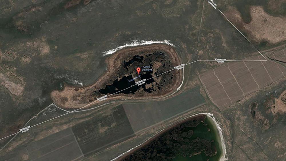 Россия отдала Казахстану часть озера вНовосибирской области