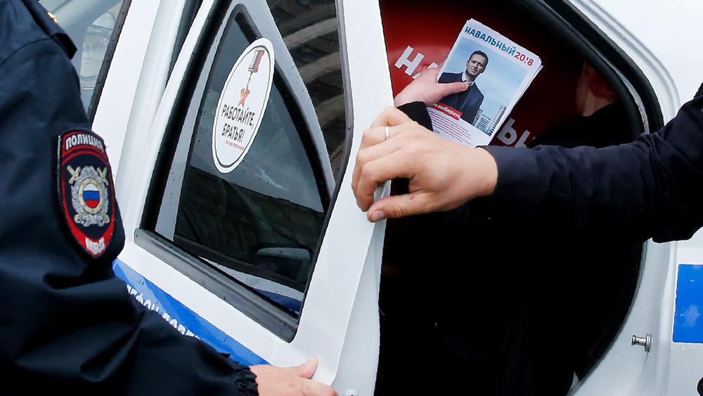 282 статья инаркодиспансер. Как вНовороссийске преследуют сторонника Навального зараздачу листовок