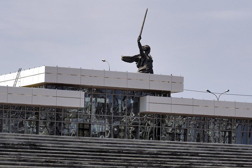 Строительство стадиона «Волгоград Арена». Фото: Дмитрий Рогулин/ ТАСС