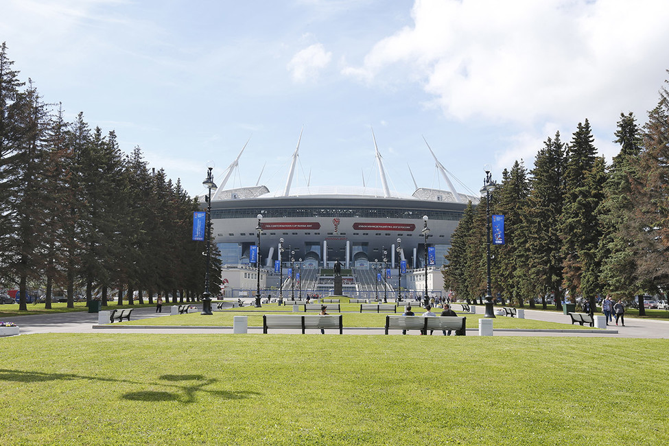 Стадион «Санкт-Петербург Арена». Фото: Александр Николаев/ Интерпресс/ ТАСС