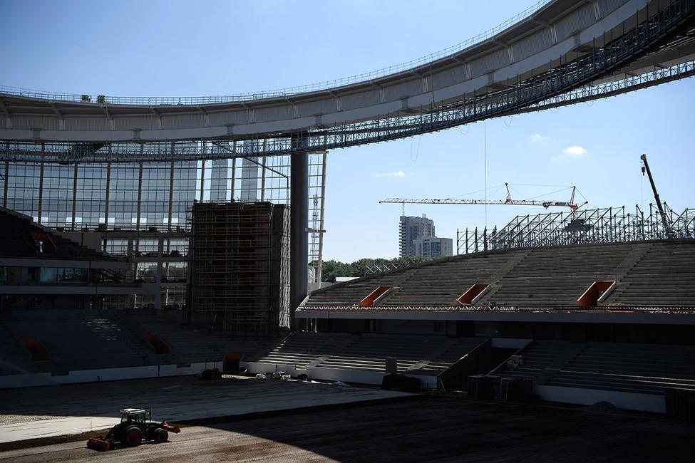 «Екатеринбург Арена». Фото: Донат Сорокин/ ТАСС