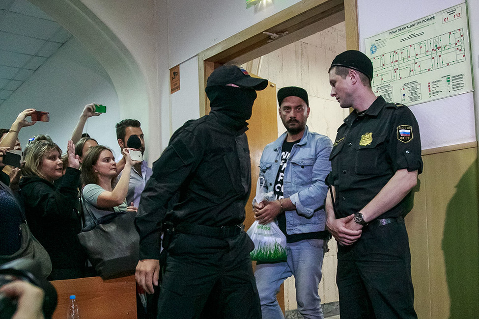 Кирилла Серебренникова отправили под домашний арест до19октября