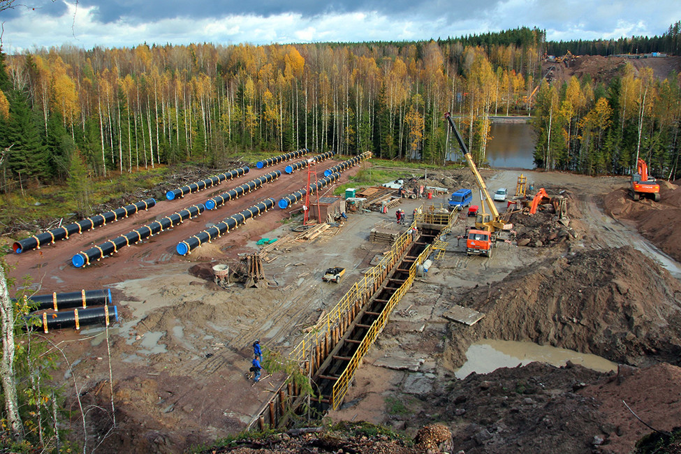 Строительство газопровода «Северный поток». Фото: Александр Чиженок/ Коммерсантъ