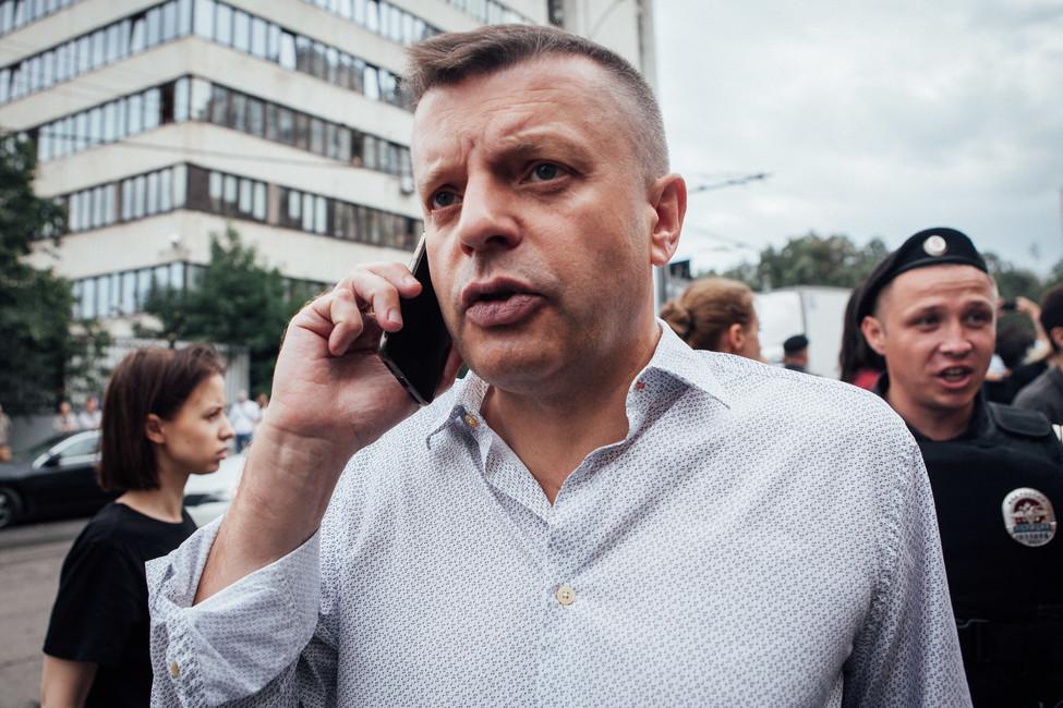 Журналист Леонид Парфенов