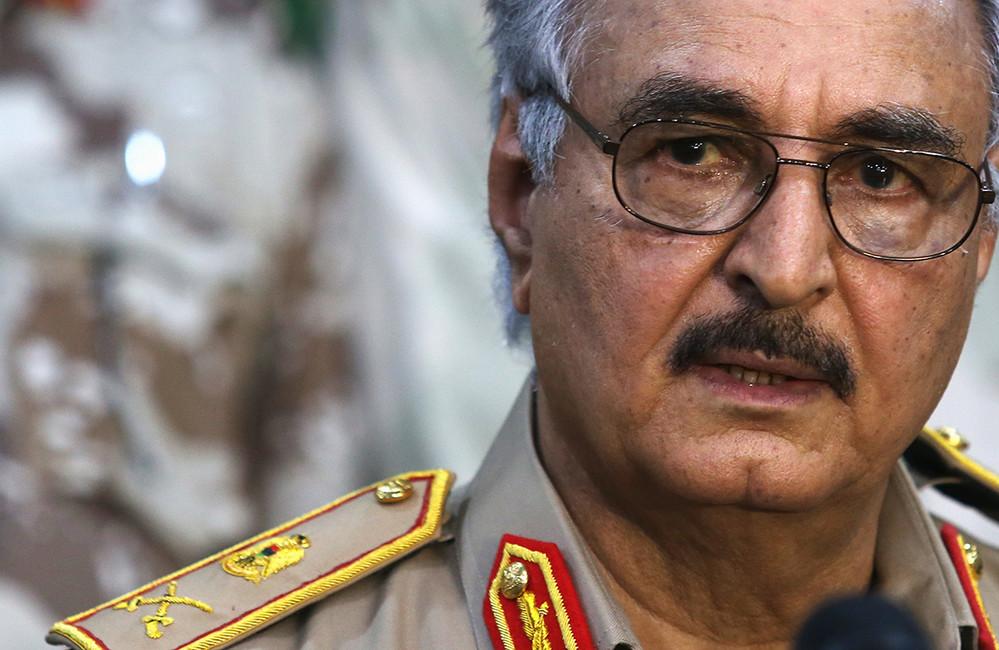 Халифа Кафтар. Фото: Esam Al-Fetori/ Reuters