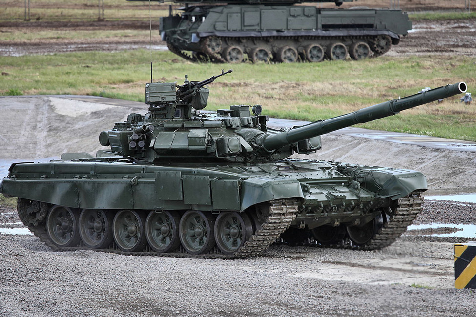 Танк Т-90. Фото: Виталий Кузьмин/ Wkimedia Commons