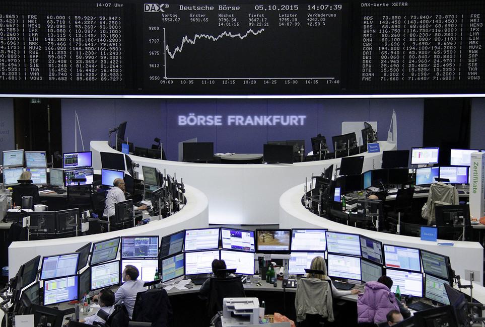 Фондовая биржа воФранкфурте, Германия. Фото: Reuters