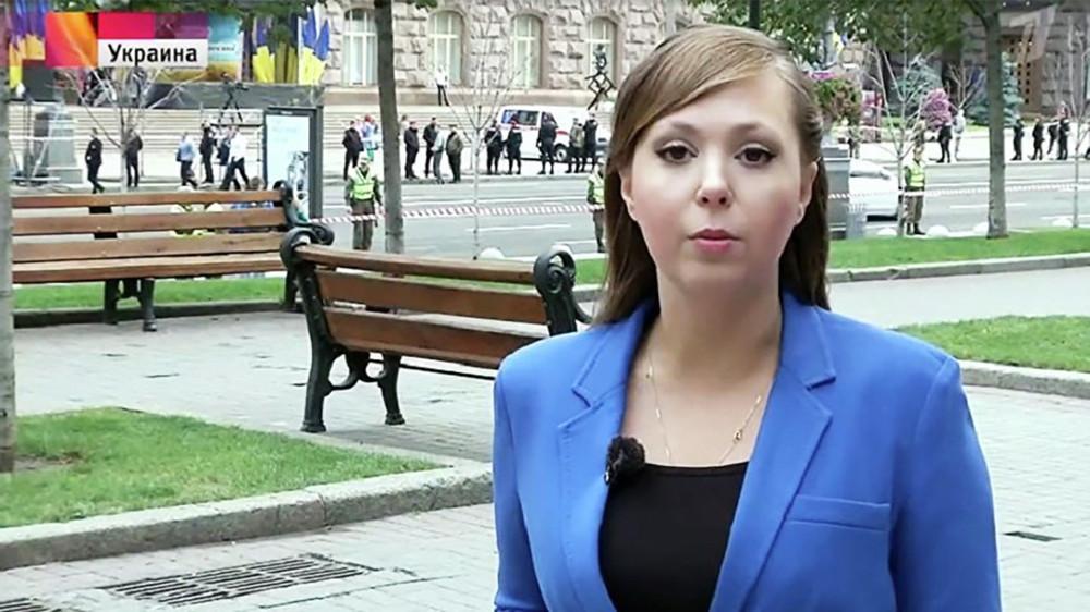 ВКиеве похитили журналистку «Первого канала»