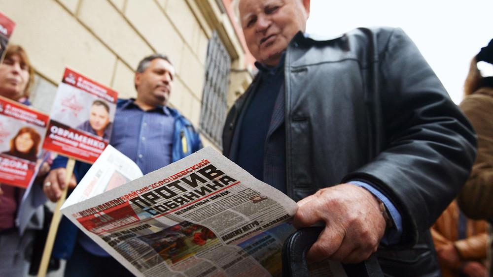«Против Собянина исобянинщины»: как коммунисты борются намуниципальных выборах вМоскве