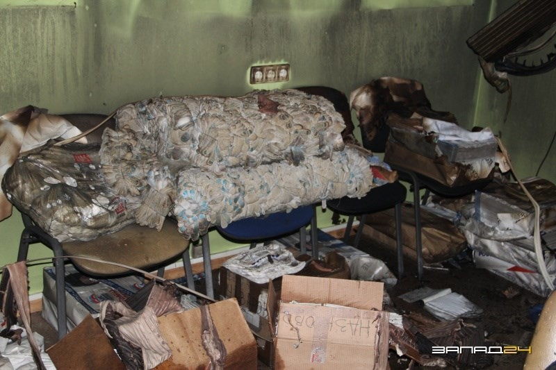 ВКрасноярском крае сожгли штаб «Единой России»