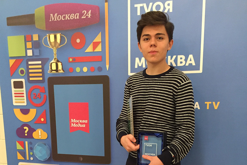 «Москва24» наградила журналиста Открытой России