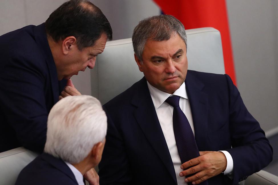 Вячеслав Володин. Фото: Станислав Красильников/ ТАСС