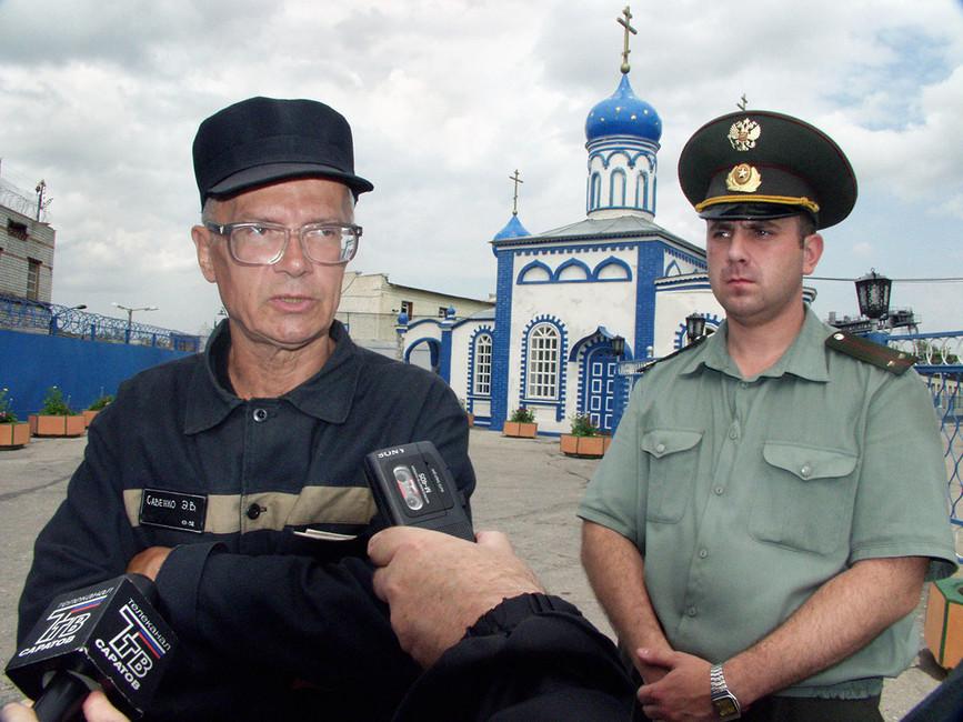 Эдуард Лимонов, 2003год. Фото: Юрий Набатов/ ТАСС