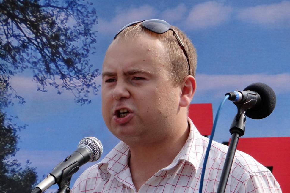 Денис Хмелевской. Фото: Ярослав Никольский/ www.ewnc.org