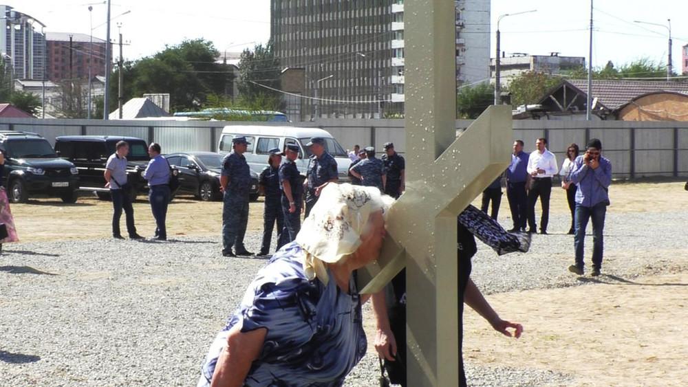 ГородНаш: махачкалинские активисты пытаются остановить строительство храма вгородском сквере