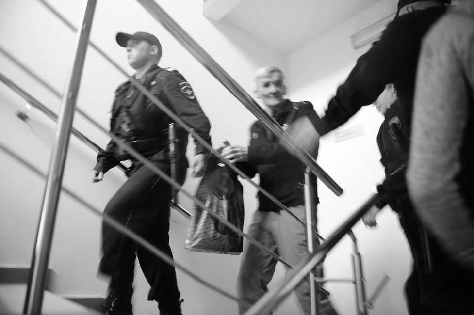 Юрий Дмитриев всуде. Фото: Виктория Ивлева