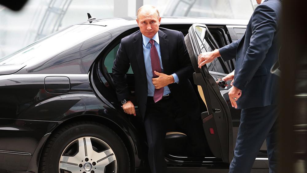 Вдень визита Путина в«Яндекс» ФСО ограничила вход для «оппозиционных» сотрудников