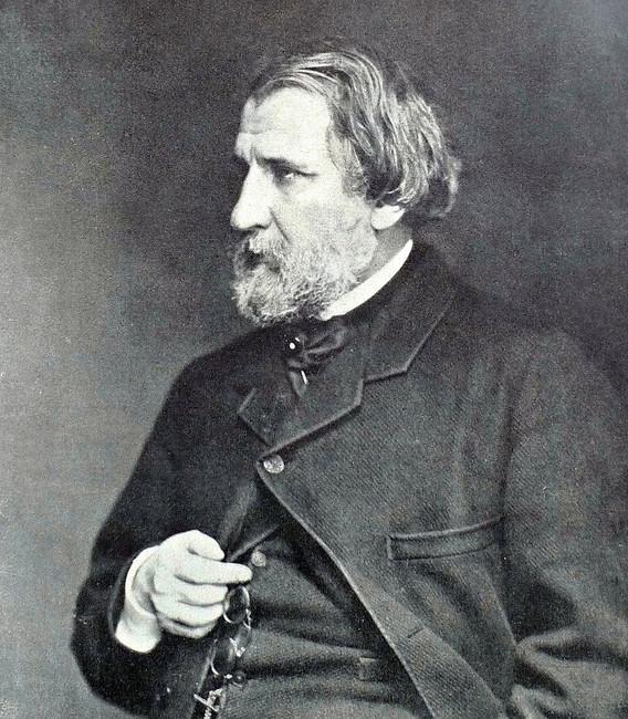 Иван Тургенев, 1871год.