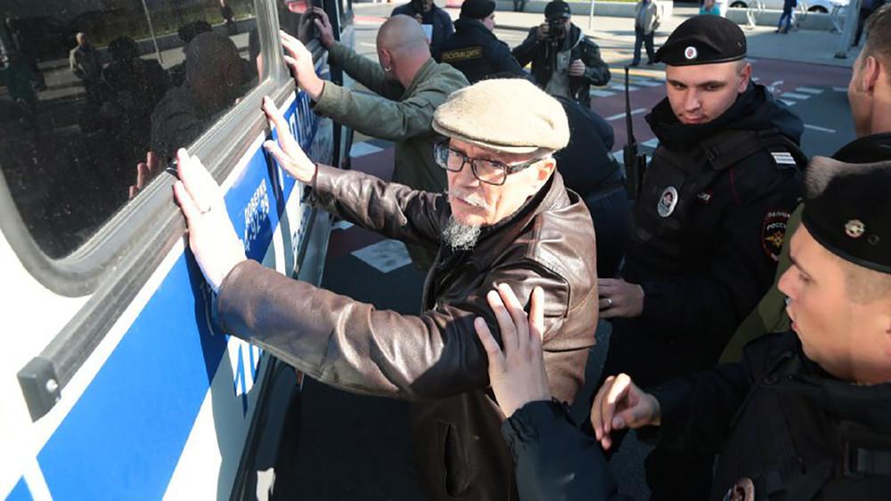 Намарше «Антикапитализм-2017» начались задержания