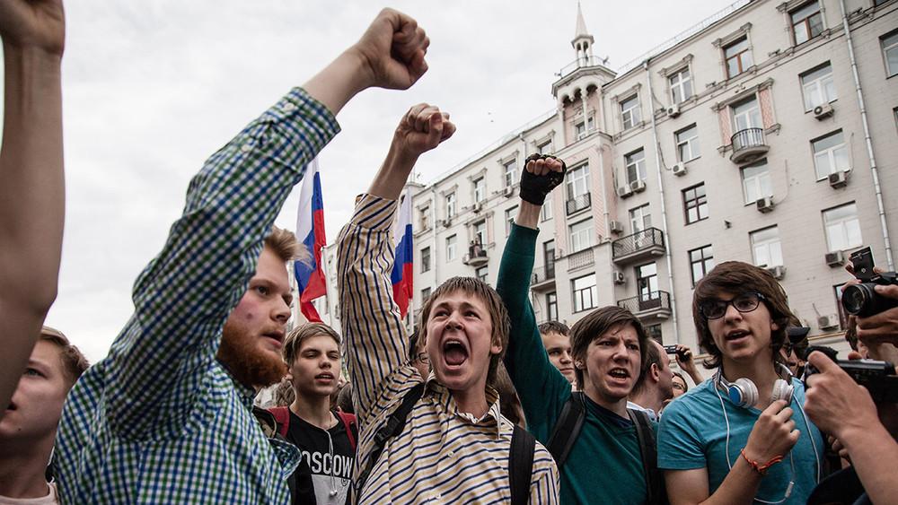 Навальный: Акция протеста вМоскве пройдет всубботу наТверской в14часов