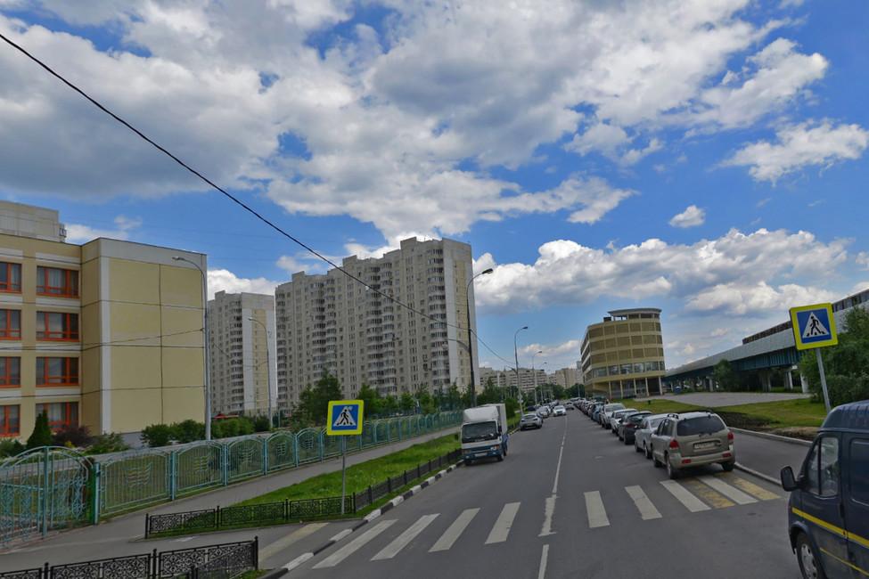 Улица Кадырова вМоскве. Изображение: Яндекс.Карты