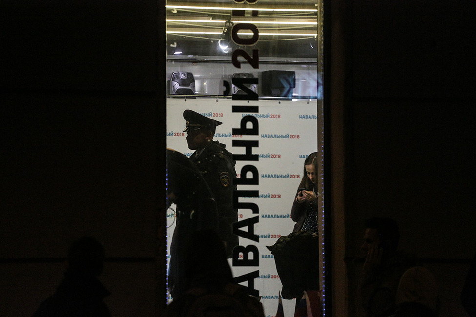 ВПерми полиция изъяла листовки изштаба Навального. Волонтеры политика напишут заявление обограблении