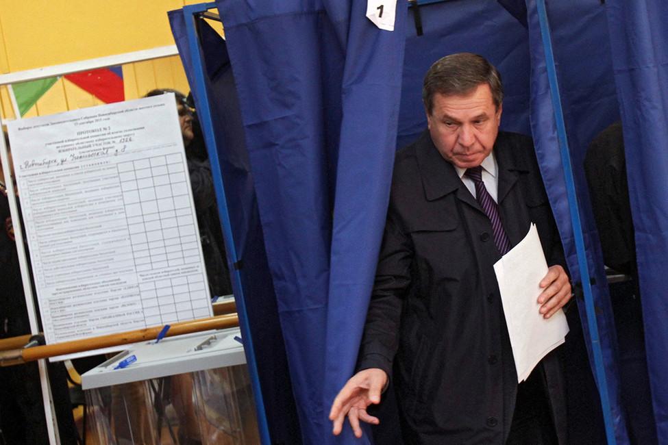 Путин уволил губернатора Новосибирской области Владимира Городецкого