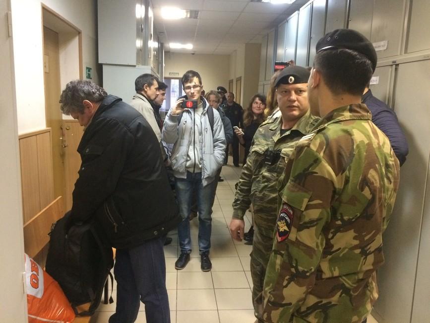 Нижний Новгород. Двух сторонников Навального приговорили кадминистративному аресту