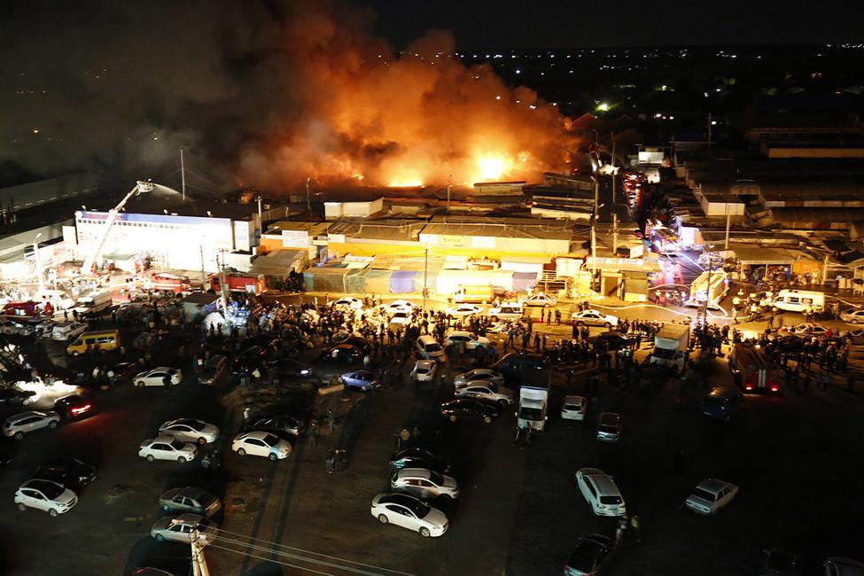 Череда пожаров вРостове: кому выгодны поджоги гостиниц, рынков ичастного сектора