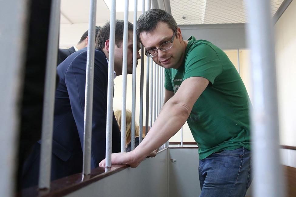 Денис Никандров вЛефортовском суде, июнь 2017года. Фото: Антон Новодережкин/ ТАСС