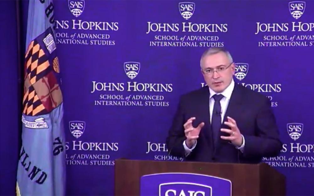 Михаил Ходорковский: «Былобы большой ошибкой отождествлять Кремль иРоссию»