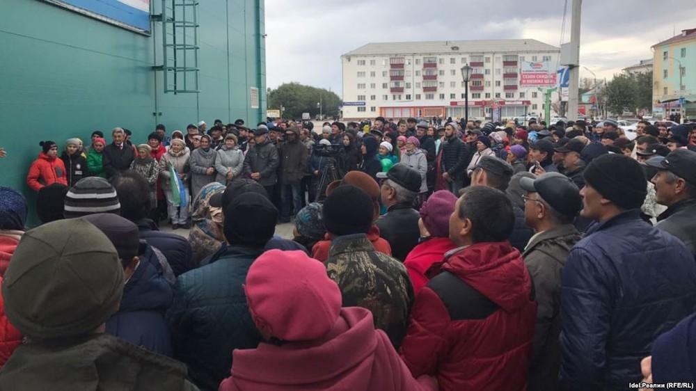 «Детей выставили живым щитом». ВБашкирии разогнали сход взащиту башкирского языка