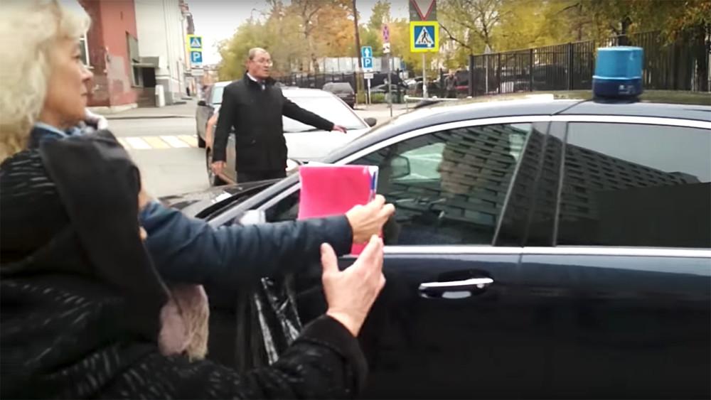 Томские пенсионерки остановили вМоскве кортеж главы Следственного комитета