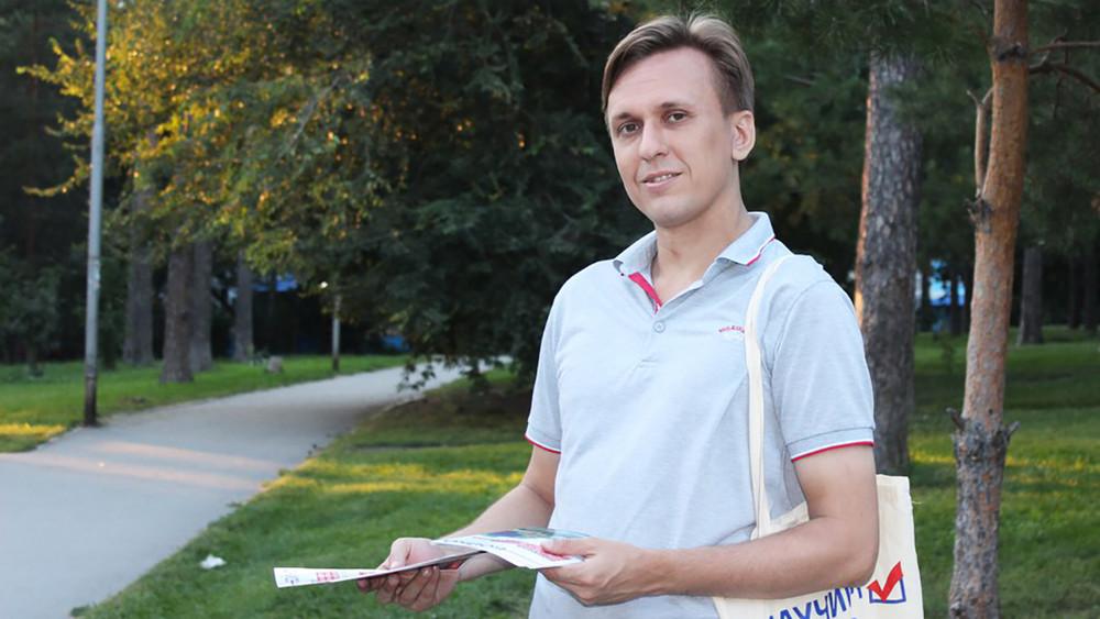 ВНовосибирске волонтер штаба Навального получил шесть суток ареста