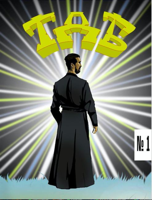 Обложка первого номера «Техники духовой безопасности». Фото: Выборгская епархия РПЦ