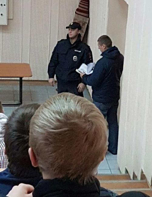 Полиция ищет поаудиториям НГТУ сторонников Навального. Фото предоставили студенты НГТУ