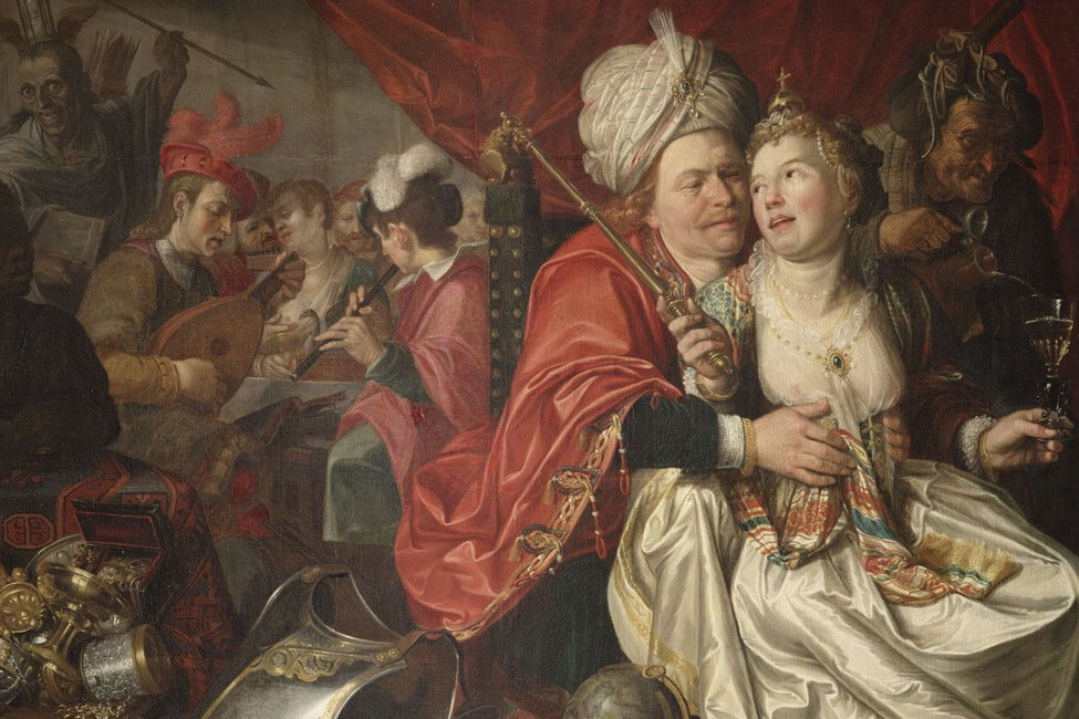Тщеславие. Художник: Якоб Вабен, 1622 год