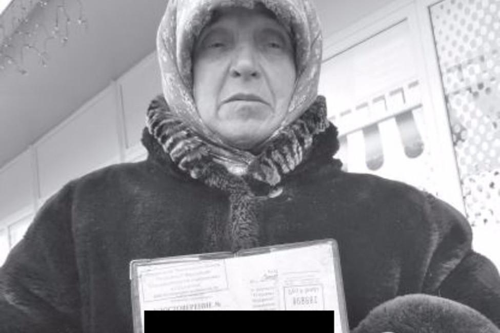 Мать Александра Спесивцева. Фото: news.vse42.ru/
