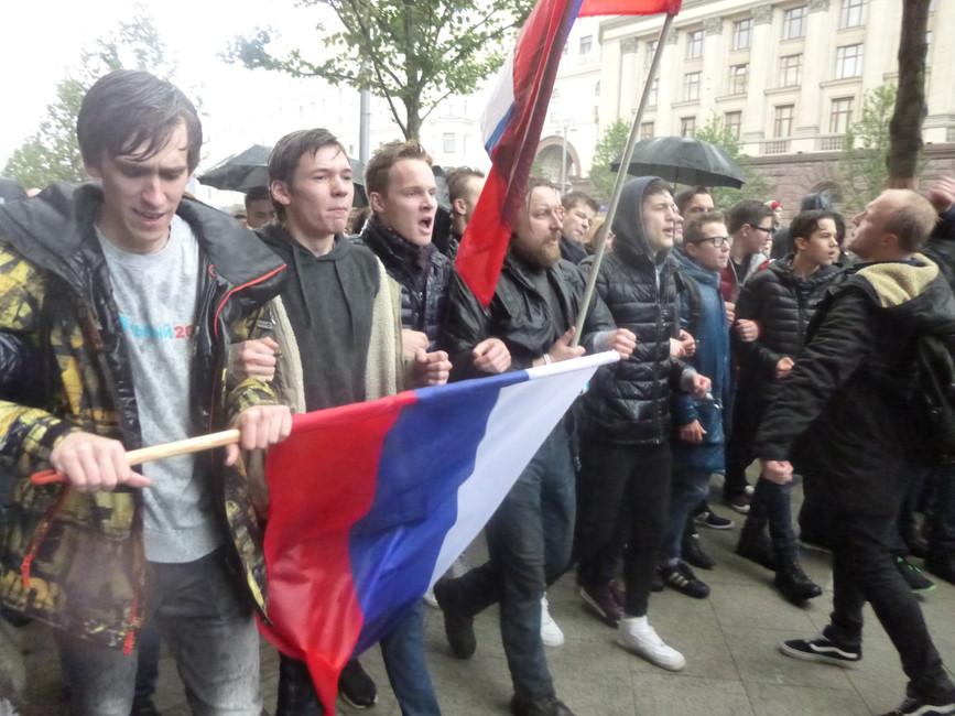 7октября, митинг вМоскве