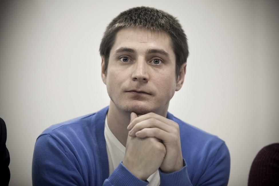 Максим Лапунов. Максим Лапунов. Фото: Анна Артемьева/ «Новая газета»
