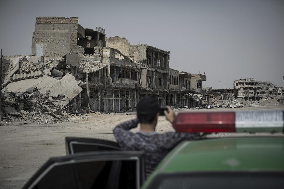 Мосул, Ирак. Фото: Oliver Weiken/ DPA/ AP