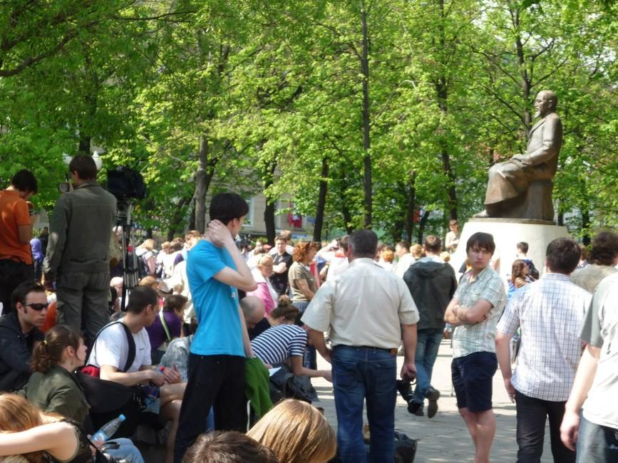 «Оккупай Абай», май 2012 года