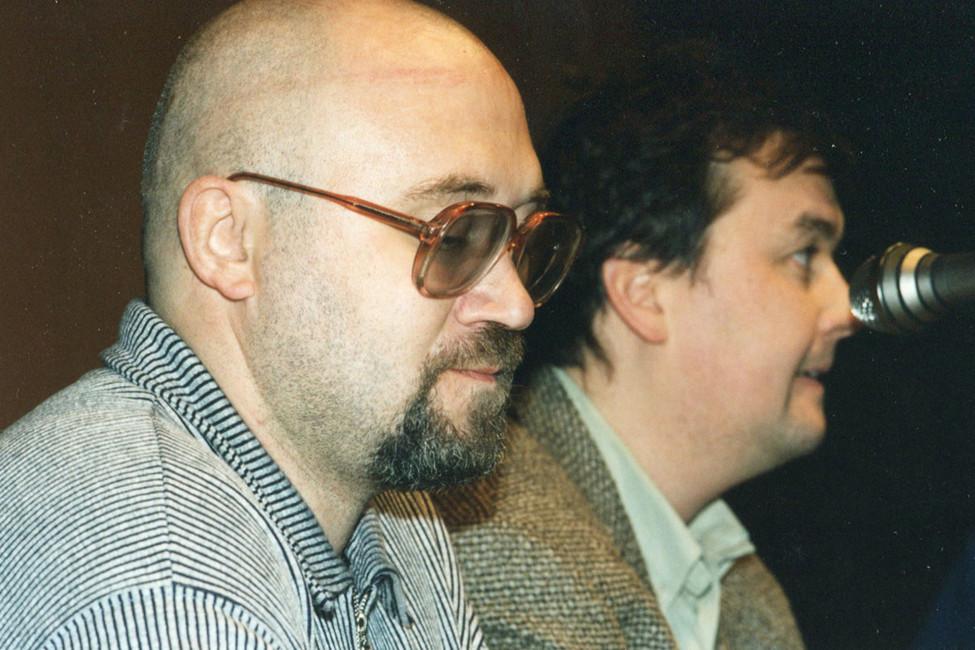 Илья Кормильцев, 90-е гг. Фото: Коммерсантъ