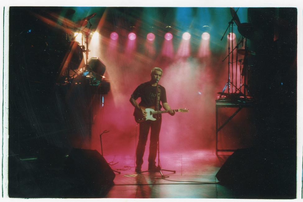 Вячеслав Бутусов, 90-е гг. Фото: Коммерсантъ
