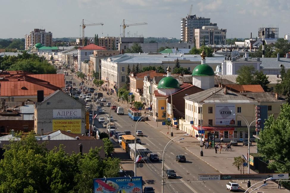 Тамбов. Фото: Андрей Богданов/ ТАСС