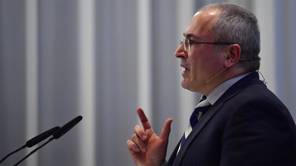 Михаил Ходорковский:  «Если небойкот, точто?»