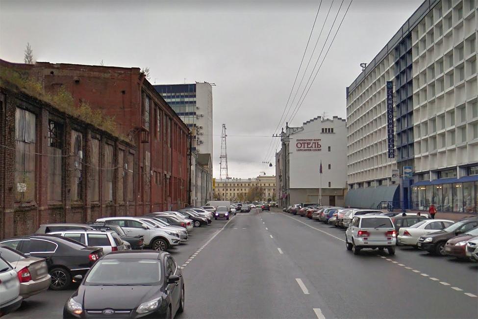 Улица Фокина вСанкт-Петербурге. Фото: Google maps