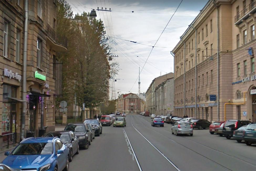 Улица Чапаева вСанкт-Петербурге. Фото: Google maps