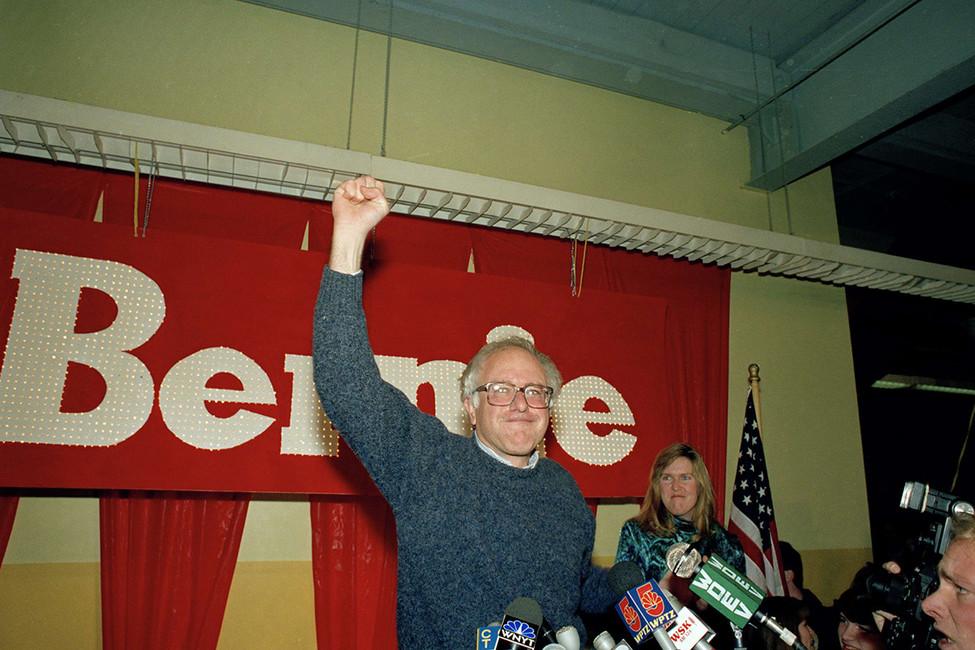 Берни Сандерс в1990году. Фото: Rob Swanson/ AP