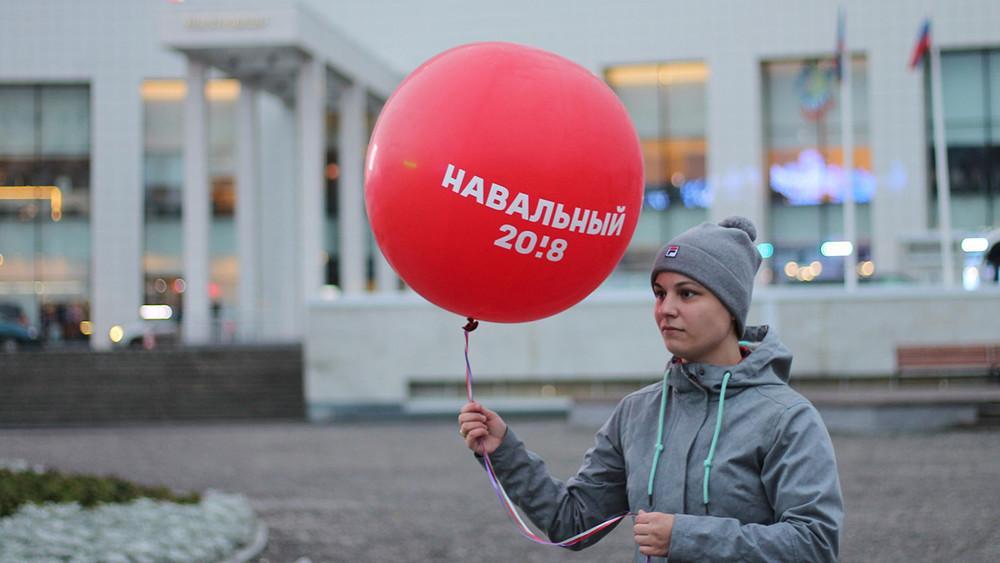 Намурманского координатора штаба Навального завели несколько административных дел заиспользование куба, шариков истула